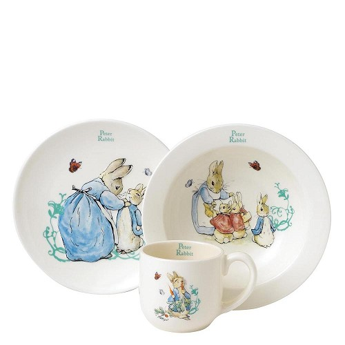 Kinder Peter Rabbit Three-Piece Nursery Set